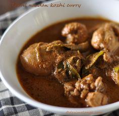 Mélange !!: Thani naadan Kozhi curry | A traditional central Kerala chicken curry with minimum ingredients