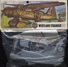 Boxart Westland Lysander 01004-5 Airfix