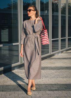 Платье. Сентябрь - шафрановый закат