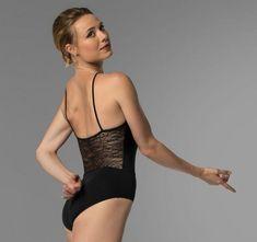 Pre-order Sara Mearns So Danca Bodysuit RDE-1716 Microfiber Available Black and White