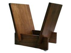Modern Wooden Vinyl Record Storage Display Flip Rack - Solid Wood LP Record Holder - Simple And Elegant