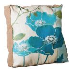 "Evergreen Enterprises - Blue Anemone 20"" Pillow"