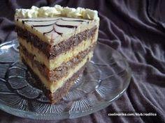 Torte Recepti, Kolaci I Torte, Sweet Recipes, Cake Recipes, Dessert Recipes, Desserts, Torte Cake, Croatian Recipes, Coffee Cake
