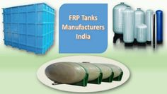 Fire protection systems designers can avail best versatile fiberglass tanks from FRP tanks manufacturers India. These tanks are used for storing hazardous and flammable liquids. These tanks are intended for H-20 loading conditions.