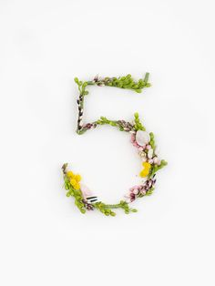 How cool is this typography by Zero and Alice Mourou? This alphabet is constructed all by hand using natural flowers and blossoms. Take a look, it's pretty amazing! All images by Zero and Alice Mourou Types Of Flowers, Fresh Flowers, Floral Letters, Typography Letters, Flower Typography, Grafik Design, Cool Fonts, Letters And Numbers, Lettering Design