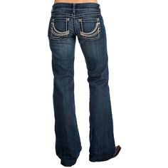 Shop Women's Ariat Crossover Mid Rise Trouser Jeans | Cloths ...