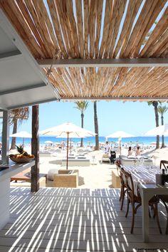 Restaurant terrace design inspiration byCOCOON | hotel design | project design | renovations | Dutch Designer Brand COCOON | Beachouse Ibiza