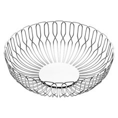 Shop Georg Jensen - Alfredo Bread Basket Large at Peter's of Kensington. View our range of Georg Jensen online. Why in the world would you shop anywhere else for Georg Jensen? Traditional Baskets, Milk Shop, Large Baskets, Stainless Steel Wire, Everyday Objects, Simple Shapes, Modern Materials, Modern Classic, Scandinavian Design