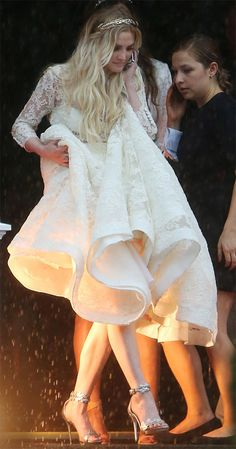 Ashlee Simpson's Boho-Chic Wedding Dress: All the Details on Her Stunning Houghton Gown
