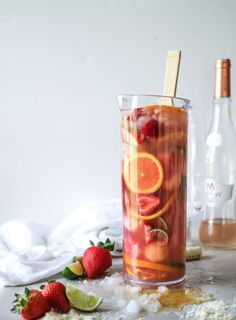 Rosé Sangria | 17 Refreshing Cocktails You Need To Make This Summer
