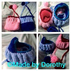 Crochet bag - baby cradle :)