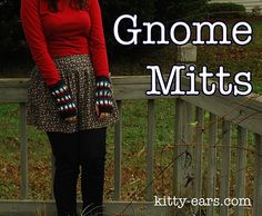 Hi! This is a full PDF tutorial on how to knit gnome fingerless gloves. The download comes with complete pattern (written and charted) and many many individual pictures to help explain the process.