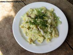 Potato Salad, Cauliflower, Potatoes, Meat, Chicken, Vegetables, Ethnic Recipes, Food, Cauliflowers