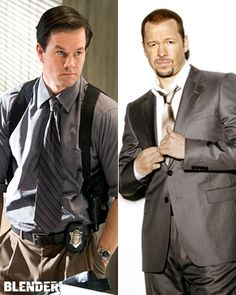 mark and donnie wahlberg. I feel safe, don't you Annie? Donnie And Mark Wahlberg, Wahlberg Brothers, Gorgeous Men, He's Beautiful, Blue Bloods, Fine Men, Attractive Men, New Kids, Man Crush