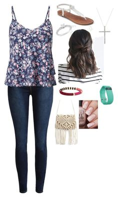"""Championship game!! Good luck Ravens!"" by rikey-byrnes on Polyvore featuring Miss Selfridge, Apt. 9, Fitbit and Ice"
