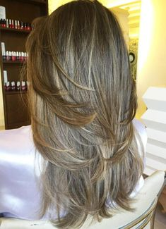 Layered Haircut With Subtle Highlights