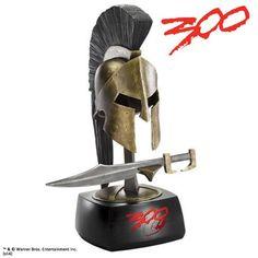 Casco y espada miniatura Rey Leónidas