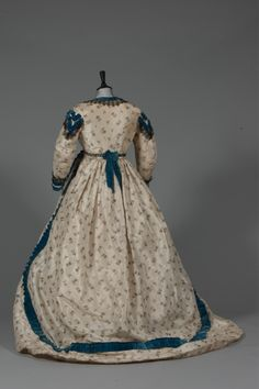 Fripperies and FobsDress ca. 1865  From Kerry Taylor Auctions