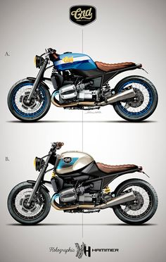 BMW R1100R - Holographic Hammer http://www.facebook.com/Holographically.Hammered & https://www.facebook.com/pages/Cafe-Racer-Dreams/130435487006449
