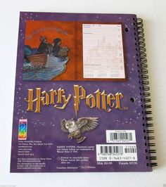 Vintage HARRY POTTER HOGWARTS 2001-2002 Student Planner ©2001, Mint | Collectibles, Fantasy, Mythical & Magic, Harry Potter | eBay!