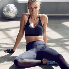 "joskriverdaily: ""Josephine Skriver for Victoria's Secret. Joseph Pilates, Josephine Skriver, Hiit, Sport Editorial, Athletic Models, Athletic Clothes, Sports Trousers, Fitness Photoshoot, Sports Models"