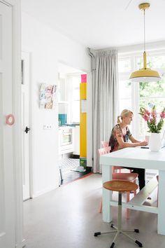 Bright + Cheerful Dutch Row House