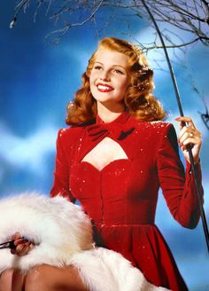 Holiday Holidays! Rita Hayworth