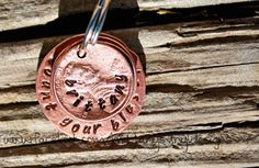 Lucky Penny Key Ring. 18.00, via Etsy.