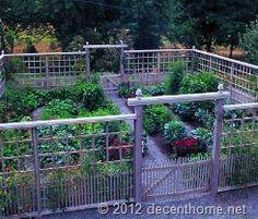 Garden Fence Ideas - Attractive Garden Fence Ideas For Your Garden | Decent Home
