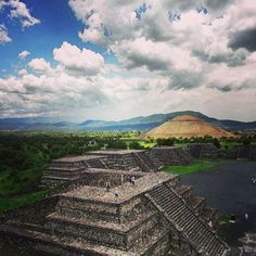 Photo taken at Pirámides de Teotihuacán by Diana Michelle K. on 6/29/2013