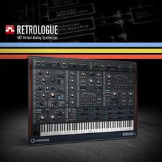Retrologue VST synth