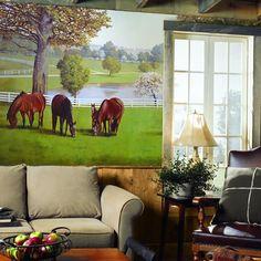 Horse Farm Mural RA0195M