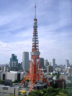 Tokyo Tower, view from Prince Park Tower
