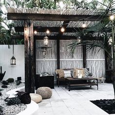 There are lots of pergola designs for you to choose from. You can choose the design based on various factors. First of all you have to decide where you are going to have your pergola and how much shade you want. Decor, Home, Outdoor Decor, Patio Design, House, Pergola Plans, Garden Design, Outdoor Design
