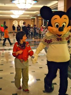 Disney Cruises and kids with special needs: Max gives them a big thumbs up. Yes, we all  seriously enjoyed our cruise on the Disney Fanta...