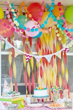 8. #Paper Chains - 46 #Eye-Catching Party #Decorations for Your Next Bash ... → DIY #Balloons