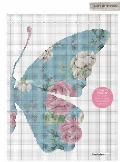 Coussin papillon en point de croix Cross Stitch Needles, Cross Stitch Fabric, Cross Stitch Art, Cross Stitch Animals, Counted Cross Stitch Kits, Cross Stitch Designs, Cross Stitch Embroidery, Cross Stitch Patterns, Butterfly Cross Stitch
