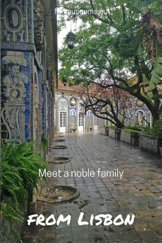 Meet a Noble Family Home in Lisbon