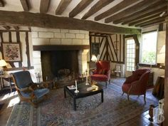 In Upper Normandy,17th century presbytery - monastery for sale France - in Normandie, Bretagne, North, Perche - Patrice Besse Castles and Mansions of France is a Paris based real-estate agency specialised in the sale of Religious edifices.