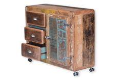 Kommode Sideboard Vintage massiv Altholz B100cm NEU in Nordrhein-Westfalen - Rietberg | Wohnwand gebraucht kaufen | eBay Kleinanzeigen