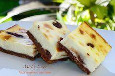 Tarta de Queso con Chocolate (Thermomix)