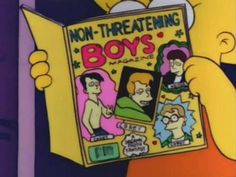 Submit a picture of Lisa reading on The Simpsons. The Simpsons, Simpsons Funny, Marla Singer, Mcelroy Brothers, Feminist Icons, The Adventure Zone, Adventure Time, Batman, Chicken Nuggets
