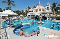 The Jacuzzi at the Riu Palace Cabo San Lucas - All Inclusive