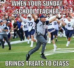 Snacks in Sunday School