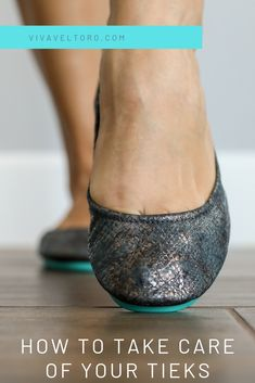 You love your Tieks and want to take care of them, right? Well, this post will tell you how to do it! Learn how to clean Tieks, how to condition them, find about about polishing and… Fancy Shoes, Clean Shoes, Me Too Shoes, Tieks Ballet Flats, Tieks Shoes, Tieks By Gavrieli, Take Care Of Yourself, Skin Care Tips, Most Beautiful Pictures
