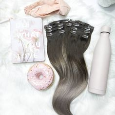 Do what you love even if it involves donuts! National Donut Day, Hair Extensions, Donuts, Instagram, Weave Hair Extensions, Frost Donuts, Extensions Hair, Beignets, Extensions