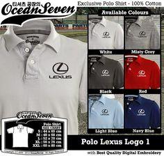 Kaos Polo Lexus Logo 1   Kaos Polo - Exclusive Polo Shirt