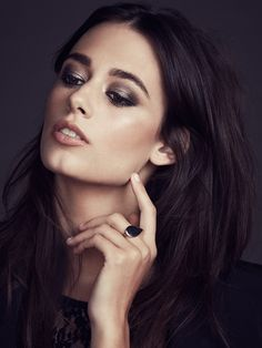 5 Easy Nude Smokey Eyes To Try For Fall 2014 via @byrdiebeauty - Bobbi Brown make-up