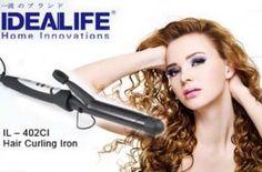 Rambut Keriting Mempesona Yang Kamu Dapatkan Menggunakan IDEALIFE IL- 402CI Hair Curly Iron Hanya Rp.99,000 - www.evoucher.co.id #Promo #Diskon #Jual  Klik > http://evoucher.co.id/deal/IDEALIFE-Hair-Curly-Iron-oktober-2013  IL-402CI Hair Curly Iron dari IDEALIFE, alat pengeriting rambut yang mudah digunakan dengan hasil keriting yang indah. Memiliki pengaturan suhu sehingga kamu bisa mendapatkan tingkat ketahanan kriting yang kamu mau.   Pengiriman akan dilakukan mulai