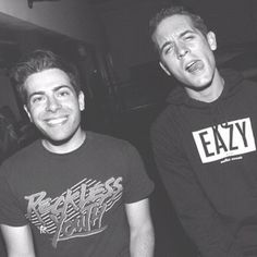 Hoodie Allen and G-eazy